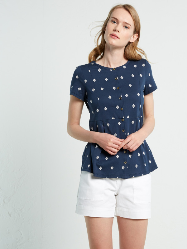 White Stuff Katie Jersey Shirt