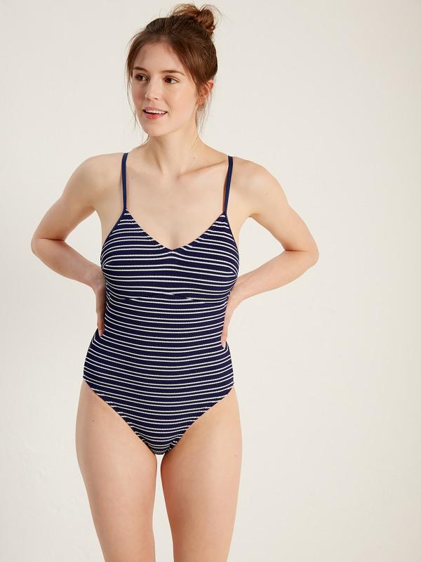 White Stuff Stripe Me Lucky Swimsuit