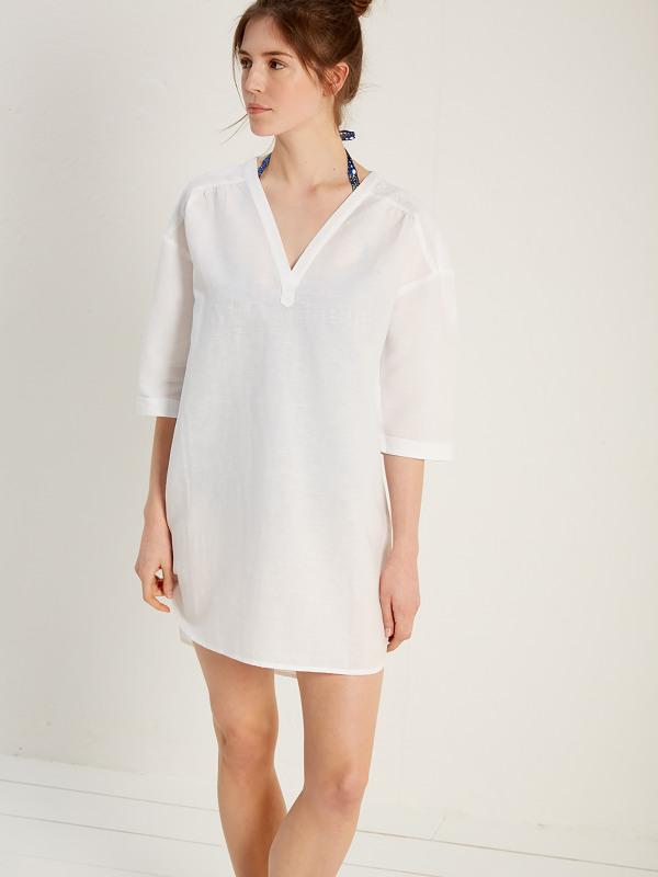 White Stuff Cococabana Beach Shirt Dress