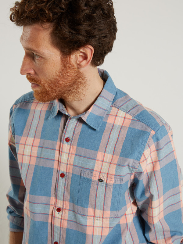 White Stuff Papeda Oxford Check Ls Shirt
