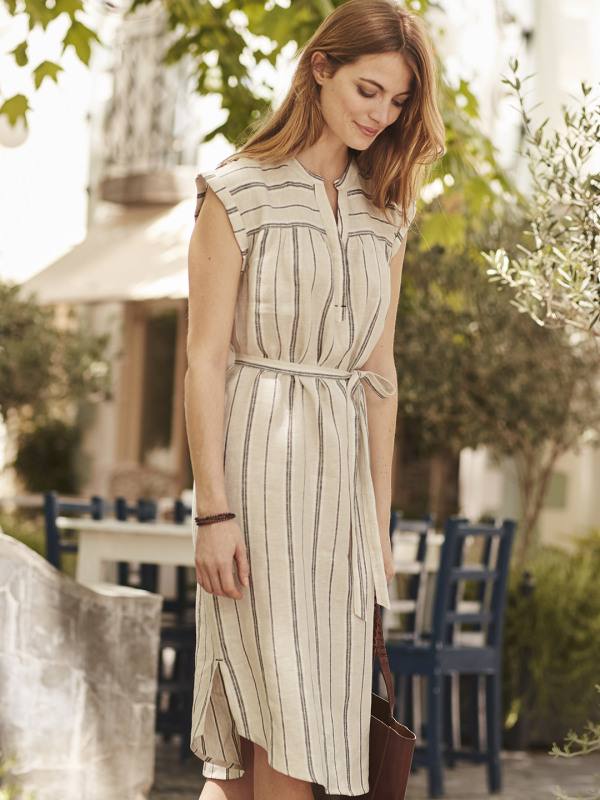 White Stuff Latitude Stripe Dress