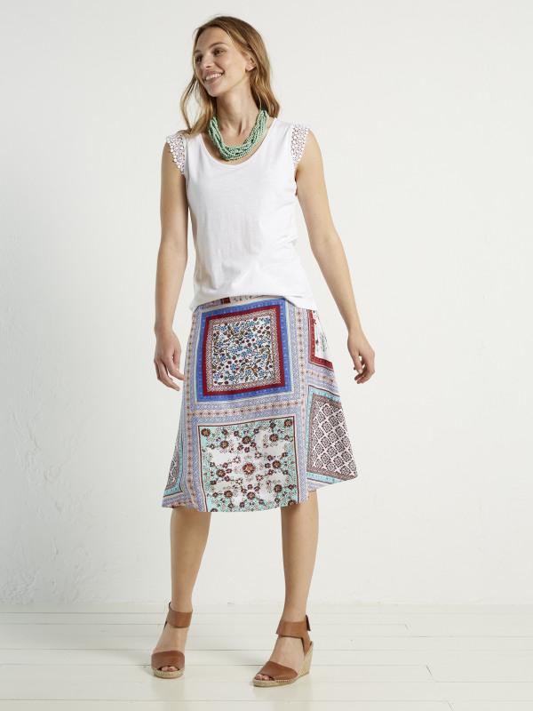 White Stuff Tranquil Reversible Skirt