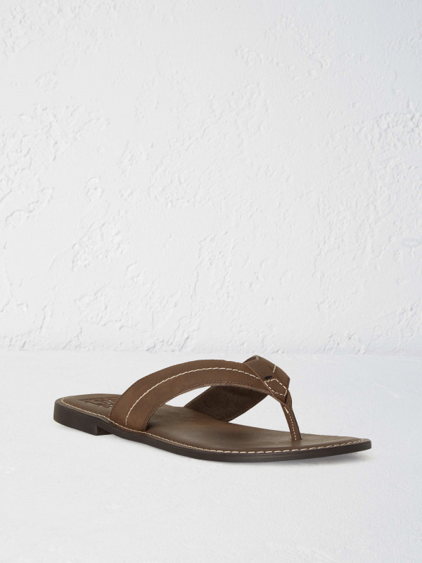 White Stuff Leather Flip Flop