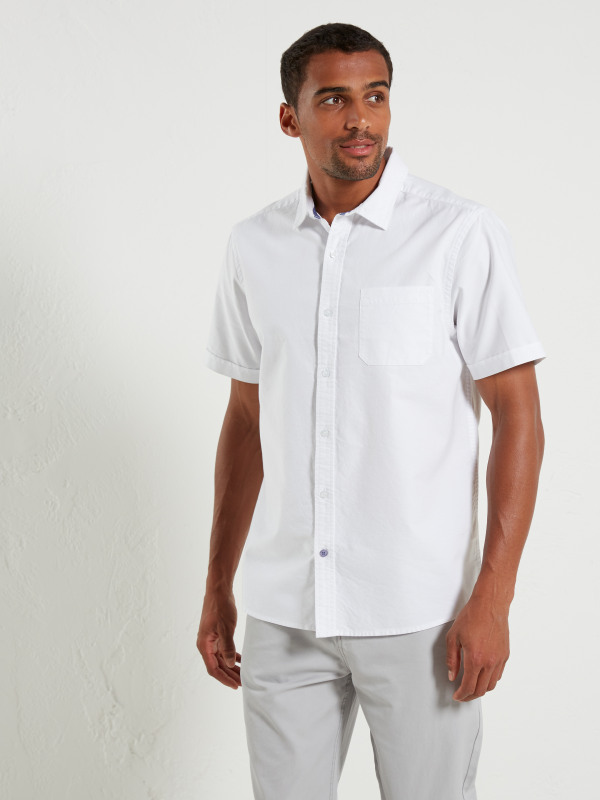 White Stuff Plain Oxford Ss Shirt