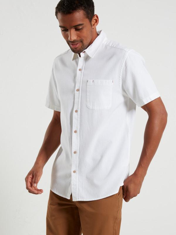 White Stuff Microtape Ss Shirt
