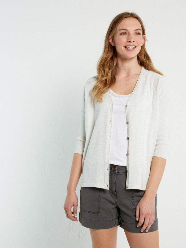 White Stuff Cruise Drawstring Cardi