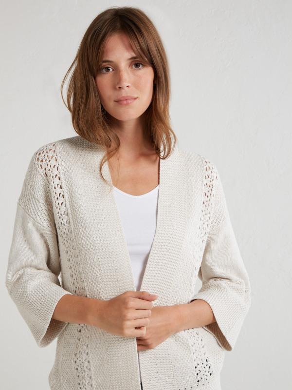 White Stuff Harbour Crochet Cardi