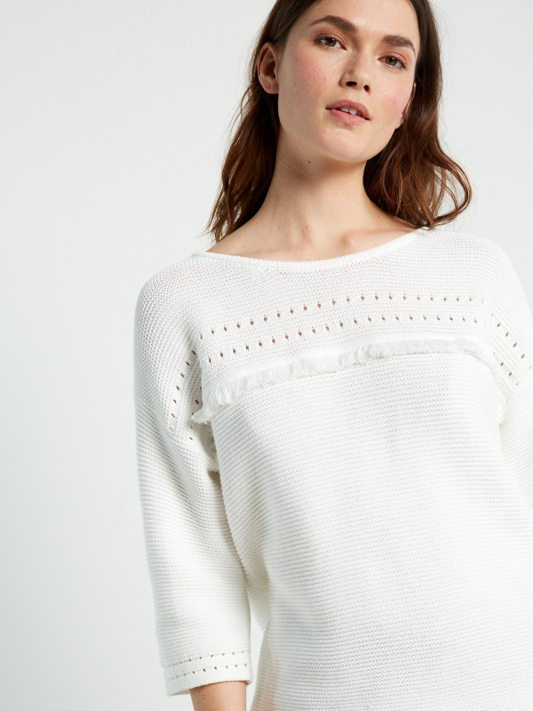 White Stuff Sand Dune Knit Top