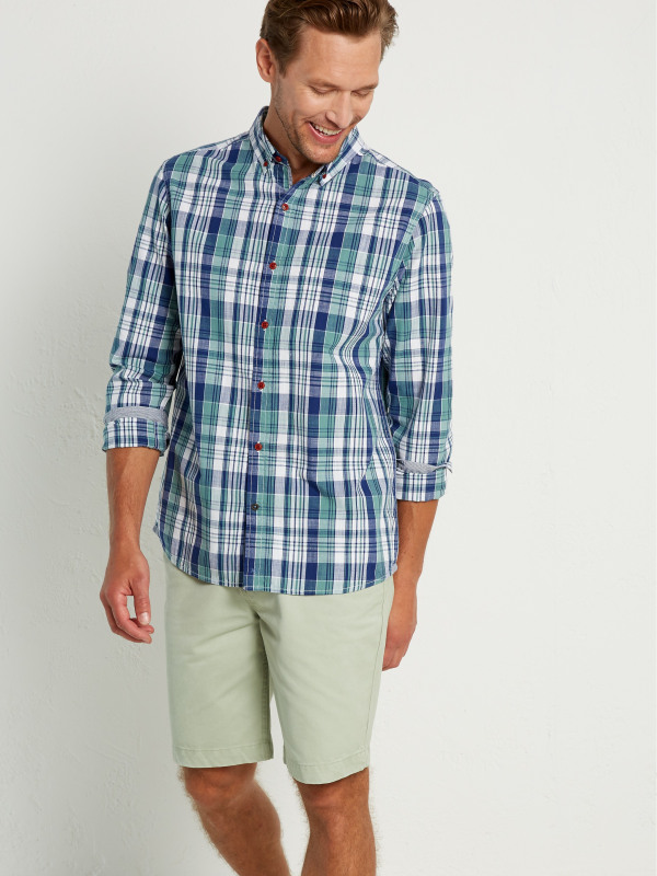White Stuff Kepel Madras Check Ls Shirt