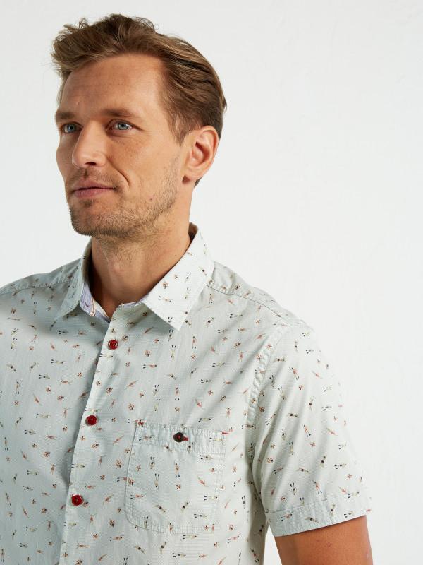 White Stuff Guava Swimmer Ss Shirt