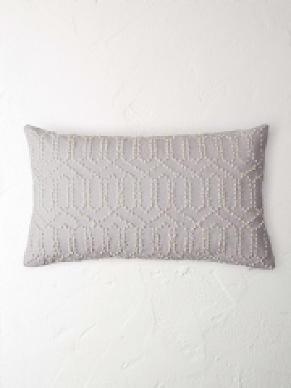 White Stuff French Knot Cushion