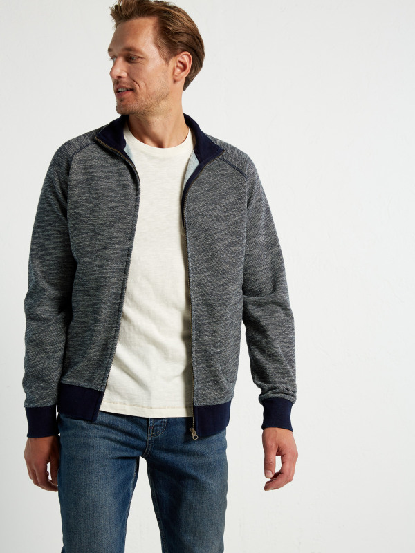 White Stuff Eclipse Indigo Funnel Sweat