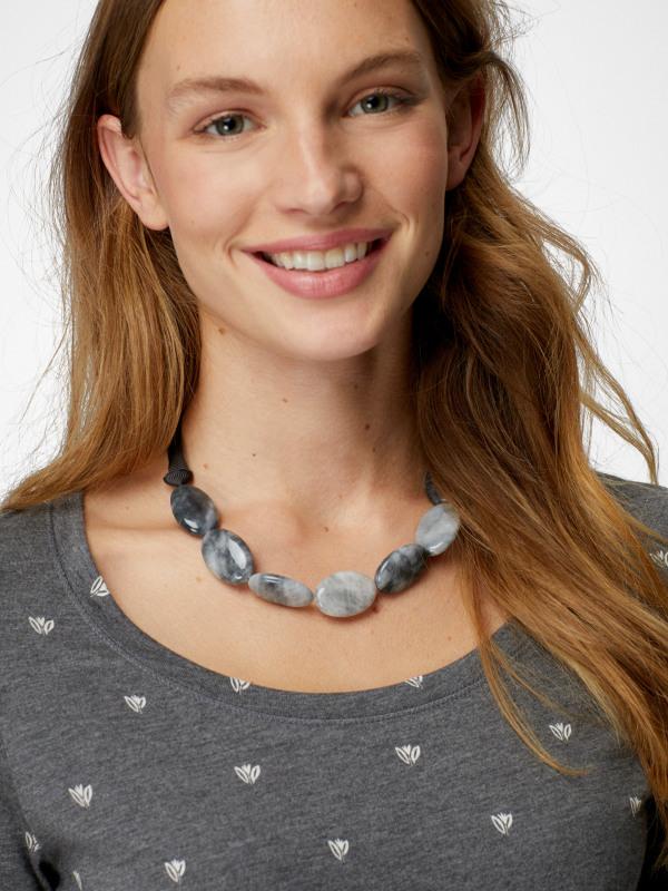 White Stuff Neutral Stone Necklace