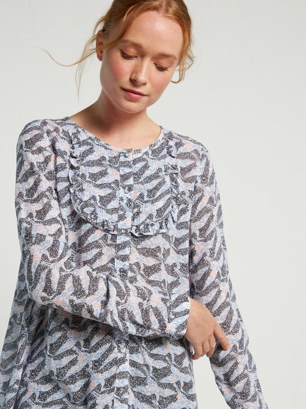 White Stuff Trixie Frill Shirt