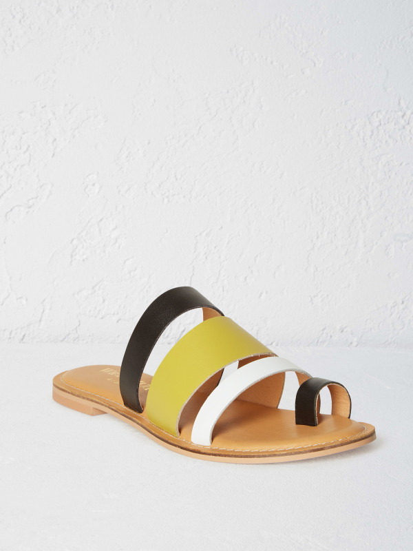White Stuff Evie Multi Colour Strap Sandal
