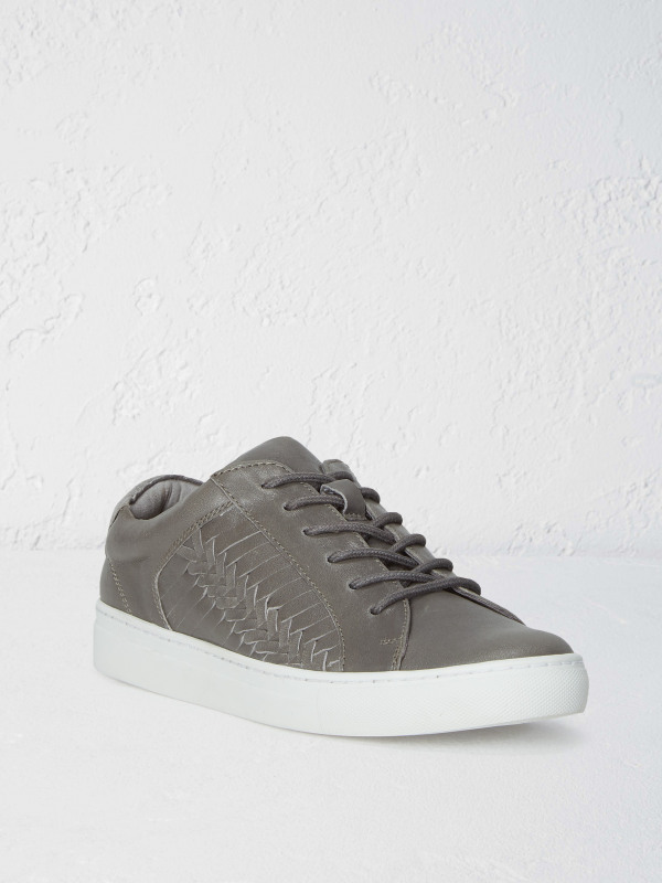 White Stuff Eliza Leather Detail Trainer