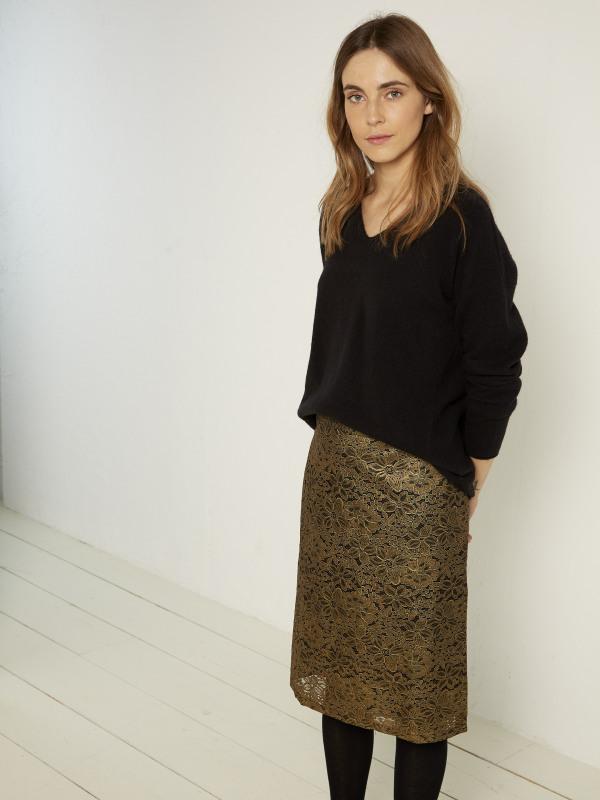White Stuff Tabitha Lace Pencil Skirt
