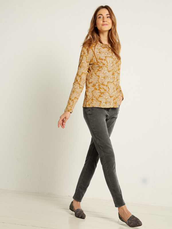 White Stuff Willow Velvet Skinny Trouser
