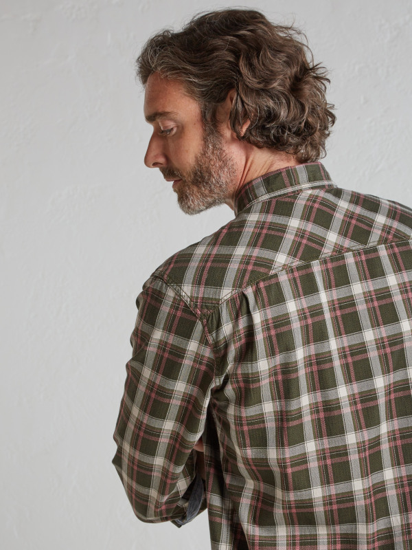 White Stuff Trail Flannel Ls Shirt