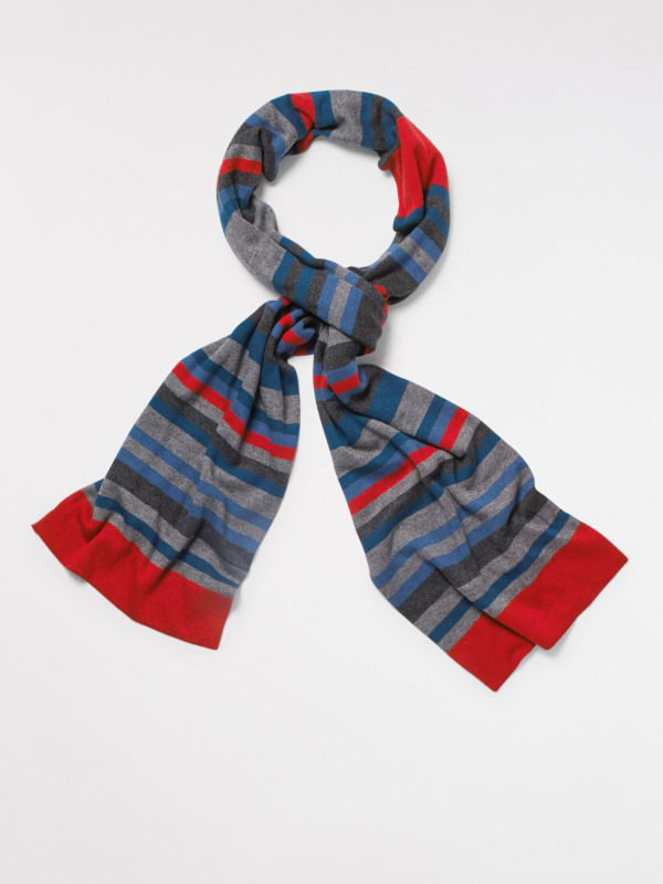 White Stuff Monty Stripe Scarf