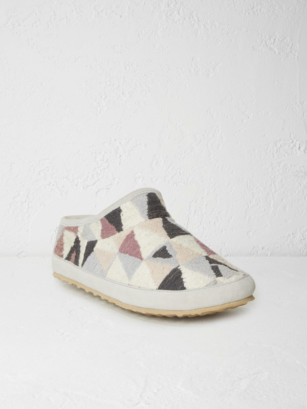 White Stuff Isla Triangle Texture Slipper