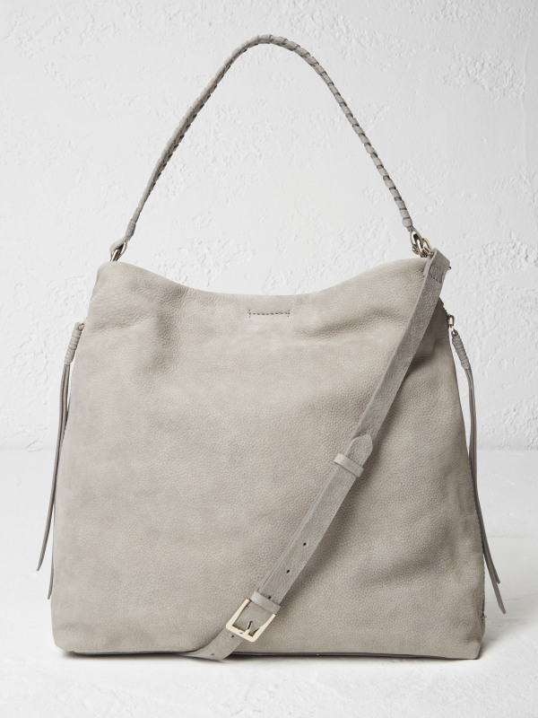 White Stuff Shea Nubuck Hobo Bag