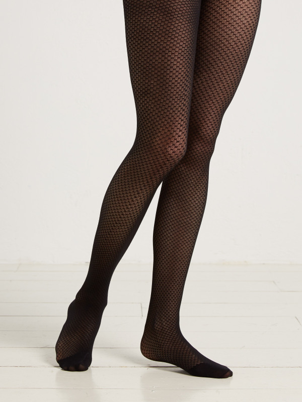 White Stuff Sheer Texture Tights