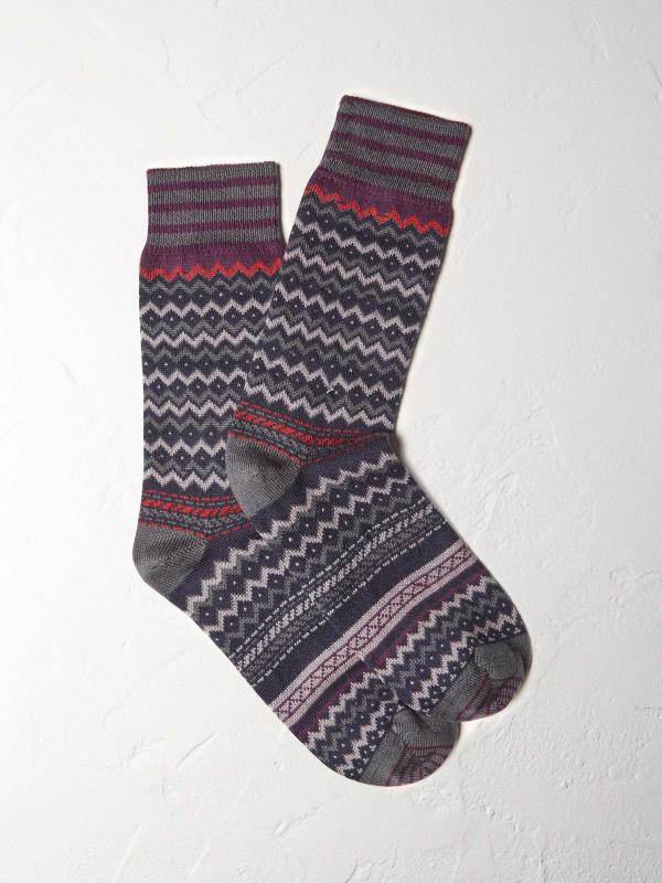 White Stuff David Fairisle Sock