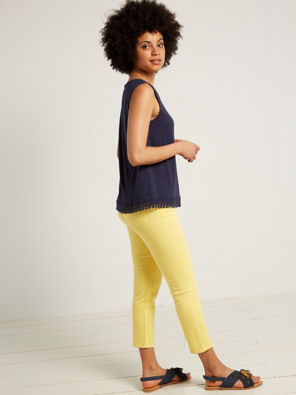 White Stuff Sally Straight Crop Jean