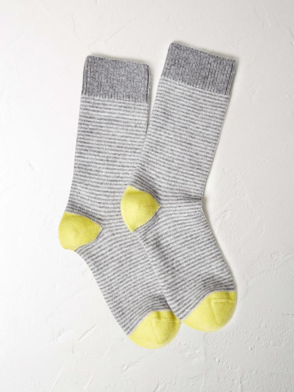 White Stuff Cashmere Mix Lounge Sock