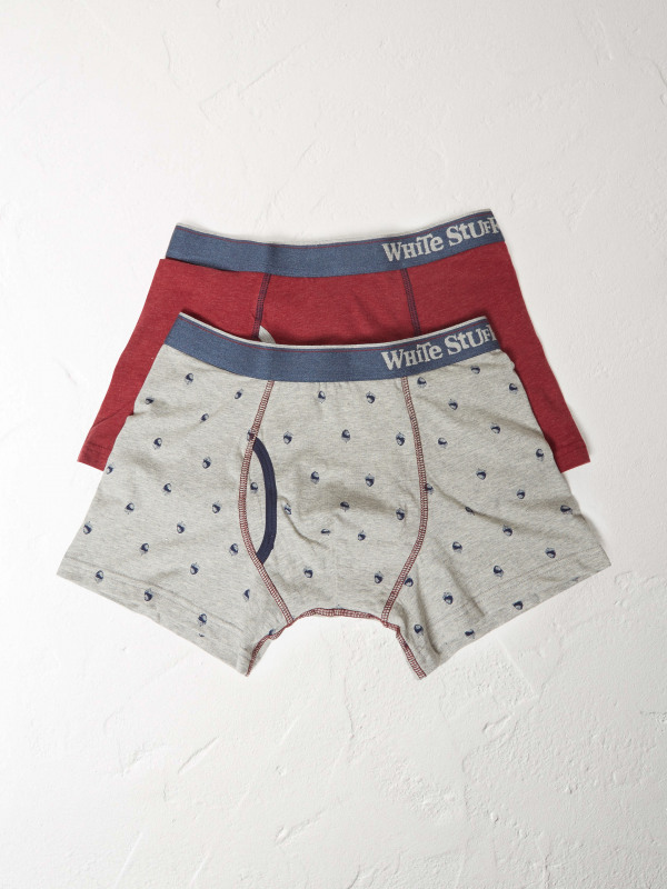 White Stuff Go Nuts Boxer Double Pack
