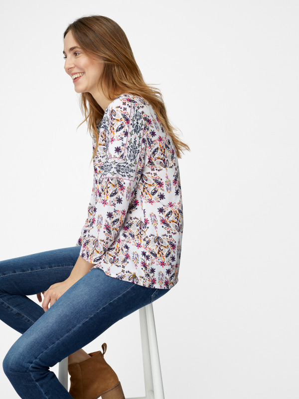 White Stuff Jessa Embroidered Blouse
