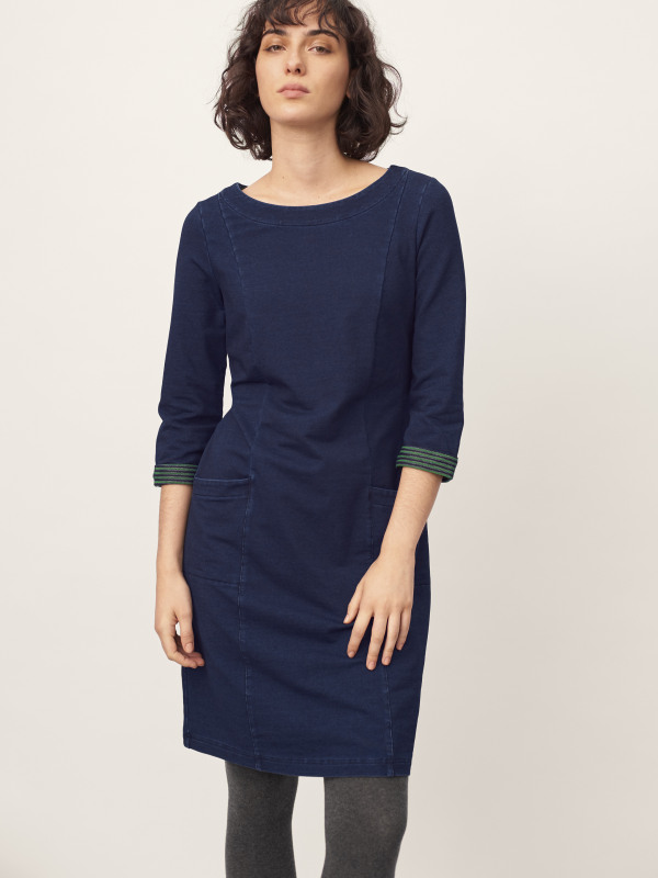 White Stuff Brooklyn Denim Jersey Dress