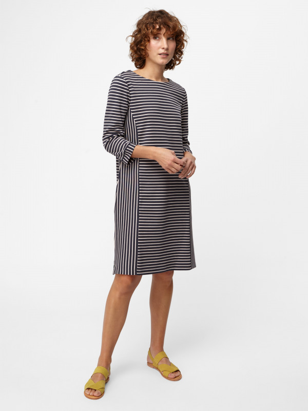 White Stuff Multi Stripe Jersey Dress