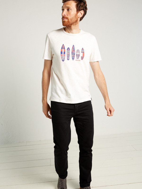 White Stuff Multi Surfboards Graphic Tee