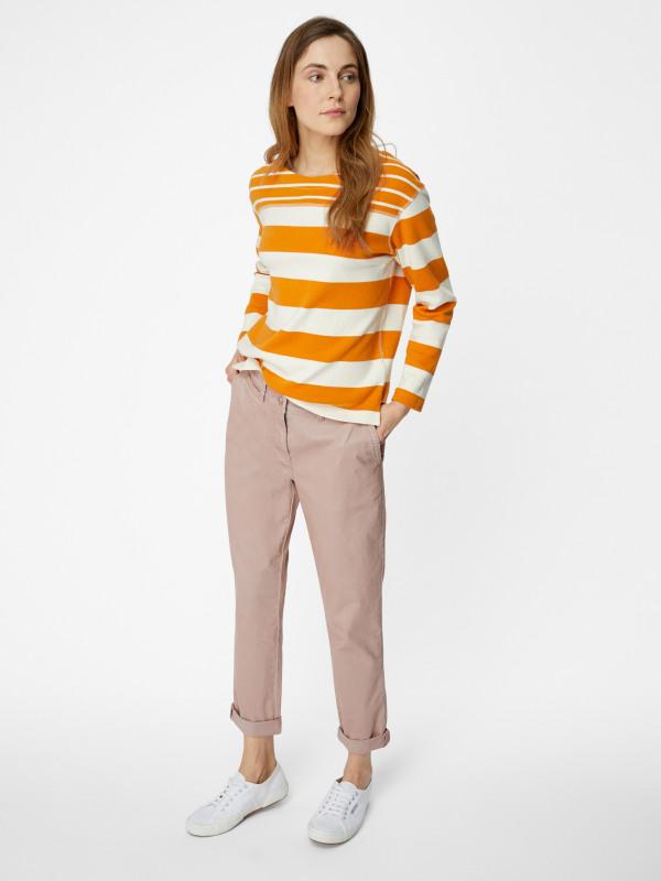 White Stuff Stripe Jersey Tee