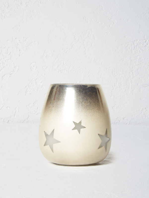 White Stuff Small Star Candle