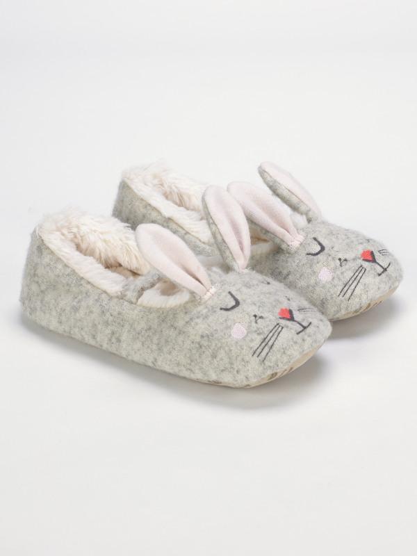 White Stuff Girls Bunny Slipper