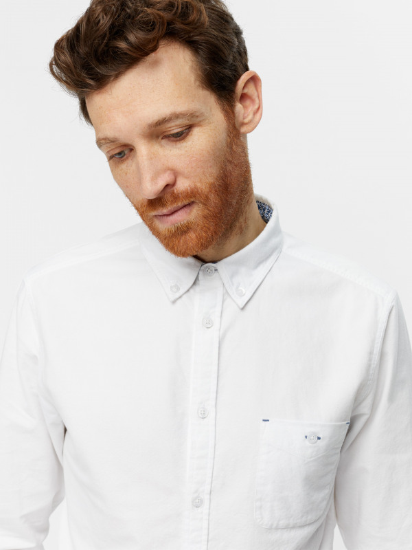 White Stuff Campus Oxford Slim Shirt