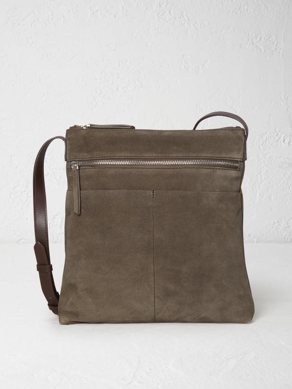 White Stuff Leila Suede Crossbody Bag