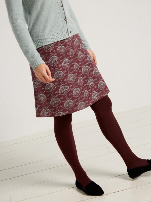 White Stuff Penny Jacquard Skirt