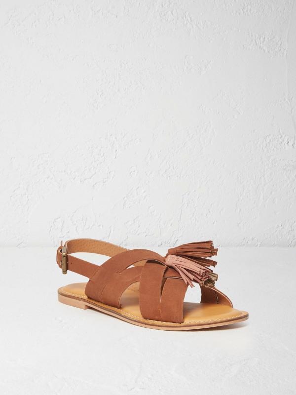 White Stuff Libby Tassel Detail Sandal