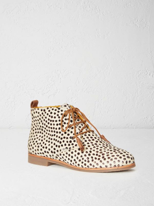 White Stuff Dotty Flat Spot Ankle Boot