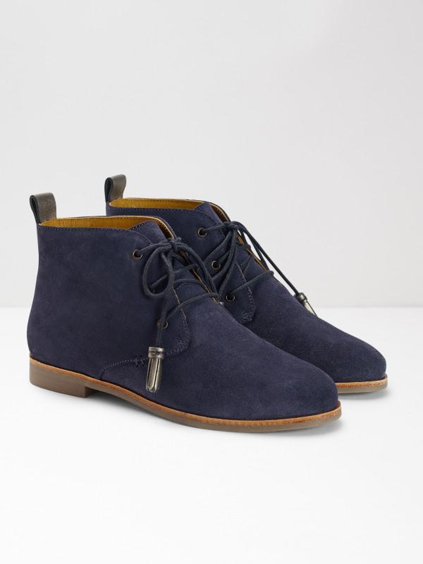 White Stuff Dotty Flat Ankle Boot