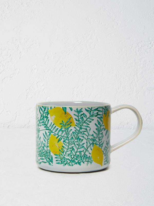 White Stuff Lemon Tree Mug