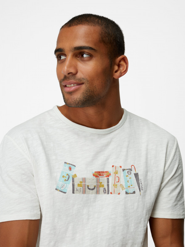 White Stuff Suitcase Graphic Tee