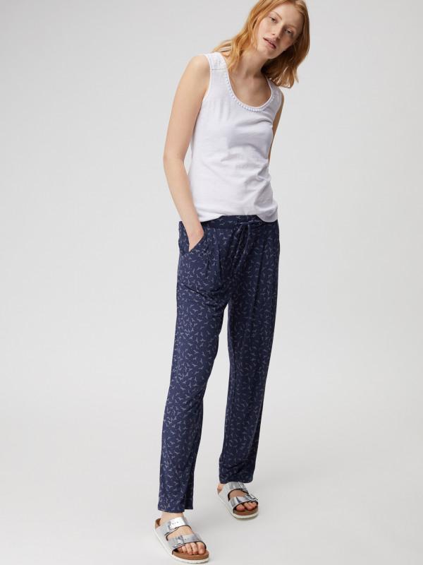 White Stuff Katie Printed Jersey Pant