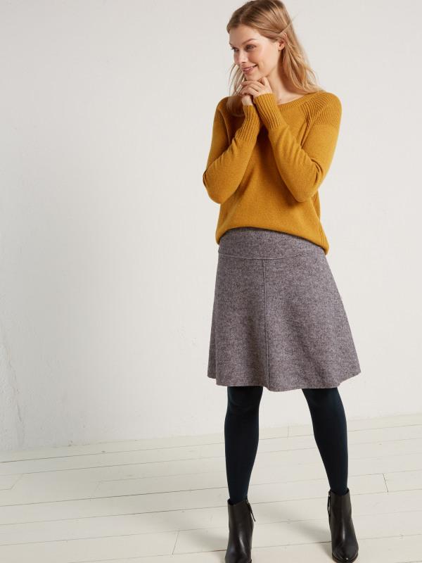 White Stuff Woodland Wool Blend Skirt