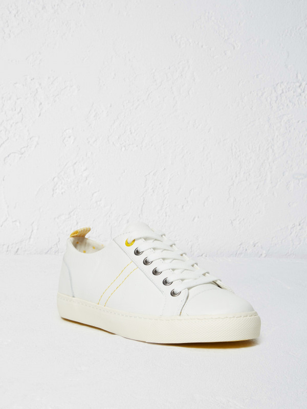 White Stuff Pineapple Leather Lace Up