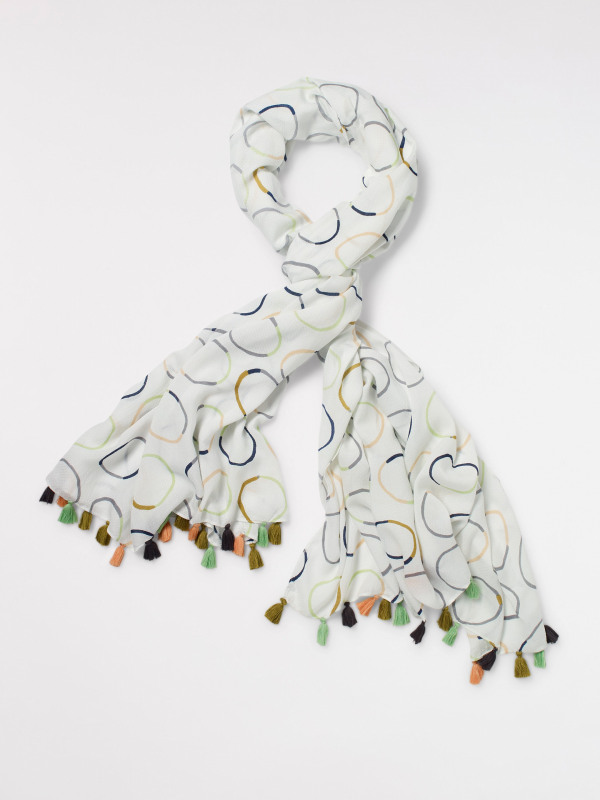White Stuff Coffee Cup Scarf